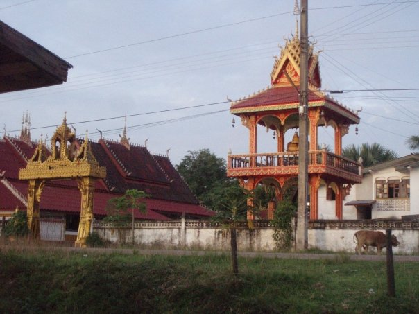 The monastery where I spent an unplanned night back in 2008.